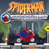 Новий Людина Павук на мотоциклі