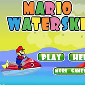 Маріо на водному мотоциклі