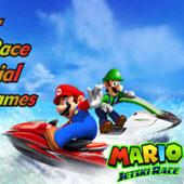 Водні 3D гонки з Маріо