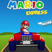 Маріо ганяє на тракторі