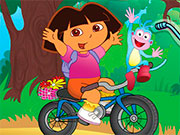 Даша на велосипеді