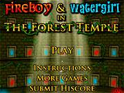 Вогонь і Вода 1 - пригоди в Лісовому храмі