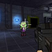 3D стрілялка: Майнкрафт-зомбі