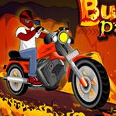 Гонки на мотоциклах в вогні