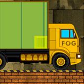 Вантажівка на будівництві фабрики