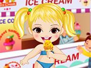 Догляд за малюками з морозивом