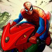 Гонки на мотоциклах зі Спайдерменом