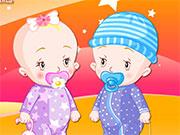 Догляд за малюками-близнючками