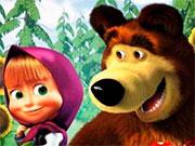 Маша і ведмідь розмальовки