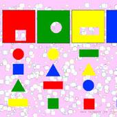 Розвиваючі: фігури та кольори