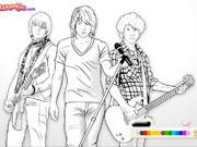 Jonas Brothers розмальовки