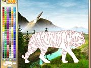 Розмальовка тигр