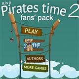 Пірати стріляють з корабля