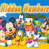 Герої Діснея шукають цифри