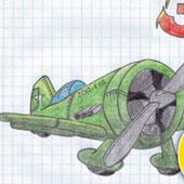 Намальовані літалки
