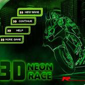 Неонові 3Д гонки 2