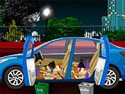 Прибирання в машині