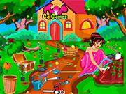 Прибирання в саду