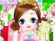 Скромна і мила наречена на весіллі