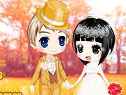 Красиві весілля золотий восени