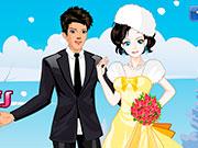 Розкішне весілля взимку