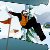 Стрибки на сноуборді