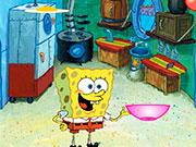 Спанч Боб готувати їжу