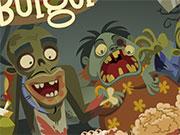 Готувати їжу бургери для зомбі