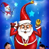Санта стрибає по крижина