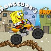 Спанч Боб гонки на мотоциклі