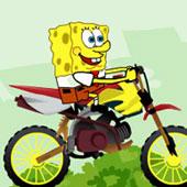 Спанч Боб догонялки на мотоциклі