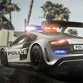 Автостоянка поліції в тропіках