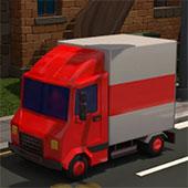 Дитяча парковка вантажівки