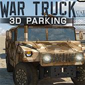 Парковка військового вантажівки в 3д