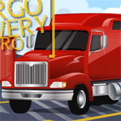 Парковка Величезного Вантажівки