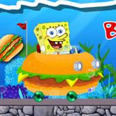 Спанч Боб гонки в бургері