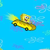 Спанч Боб гонки за бургерами