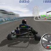 3Д гонки: Картинг
