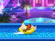 Гонки в басейні