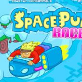 Мультяшні 3Д гонки в космосі