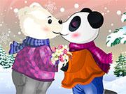 Ведмедики цілуються на півночі