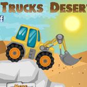Гонки на тракторах по пустелі