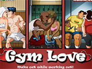 Поцілунки в спортзалі
