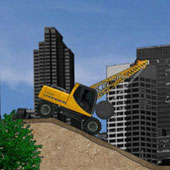 Гонки на будівельних тракторах