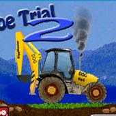 Гонки на тракторах: Управління ковшем