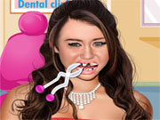 Ханна Монтана у дантиста