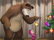 Ведмідь і кульки
