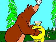 Маша і ведмідь самовар