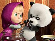 Маша і ведмідь готують