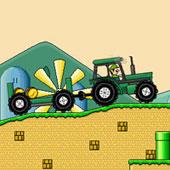 Гонки на тракторах з Маріо